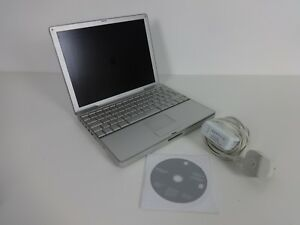 Apple-PowerBook-12-1-034-POWERBOOK-G4-1-5GHZ-512MB-80GB-Working-with-Install-Discs
