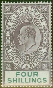 Gibraltar-1903-4s-Dull-Purple-amp-Green-SG53-Fine-amp-Fresh-Lightly-Mtd-Mint-7