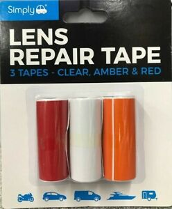 Simply 2250 Lens Repair Tape Red//Clear// Amber