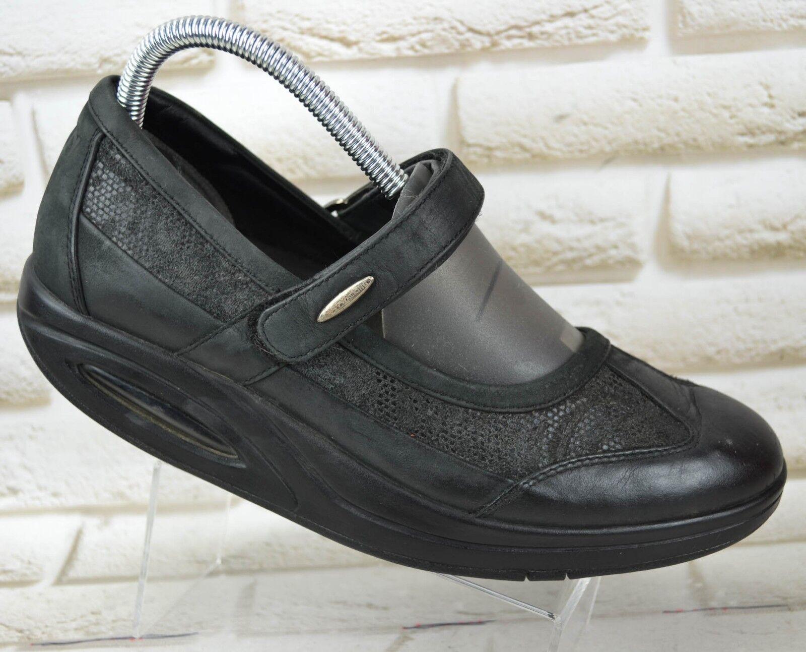 RYN Toning Womens Leather Healthy Walking Toning RYN Shoes Ballerinas Size 7 UK 40 EU a731ee