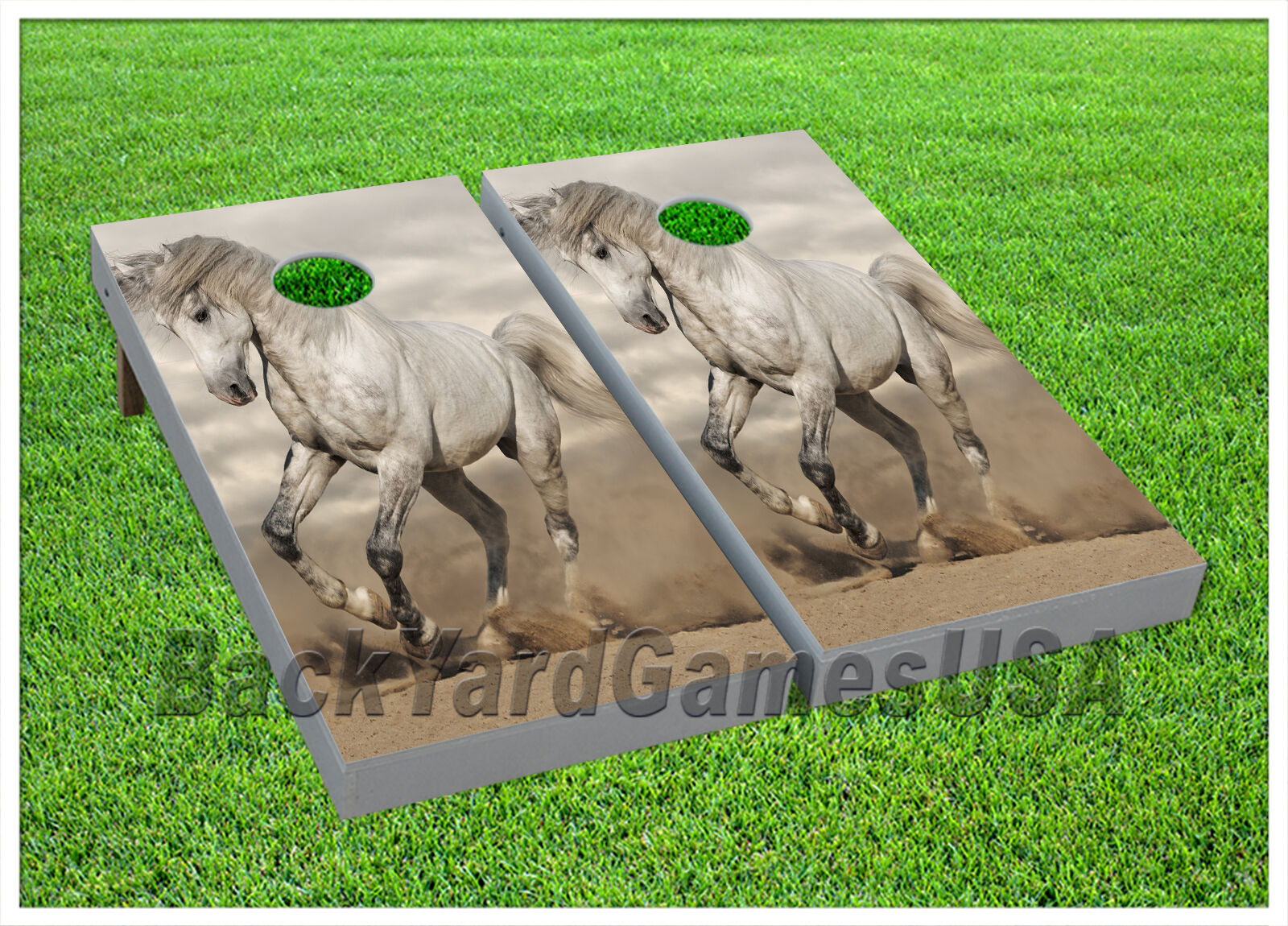 CORNHOLE BEANBAG TOSS  GAME w Bags Game Boards Set 913  healthy