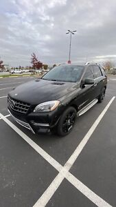 2013 Mercedes-Benz M-Class AMG Package