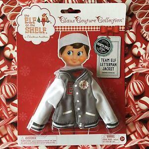New Team Elf Letterman Jacket Elf On The Shelf Claus