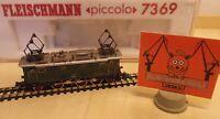 Fleischmann N 7369 Elektrolok BR 132 101-7 der DB Ep.III Neuwertig in OVP