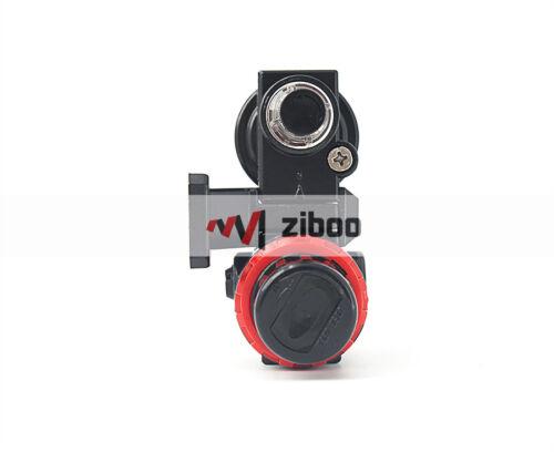 "AFC-2000 1//4/"" Air Source Treatment Filter Pressure Regulator Lubricator Combo"