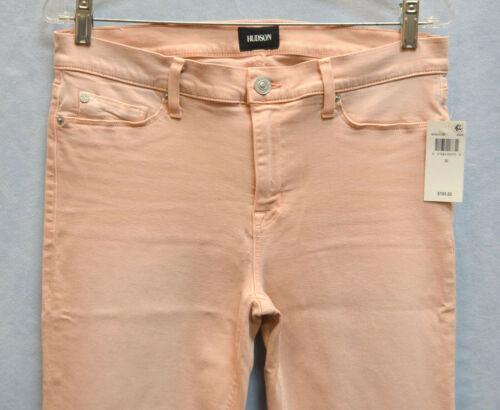 Tally Worn Hudson Jeans Skinny Rosewater Nwt 30 Taglia Cuff 195 B2 Crop Deep EwWnSfnqp