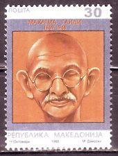 Mecedonia(Europe)-Gandhi 30 1998 MNH Condition Stamp #G19