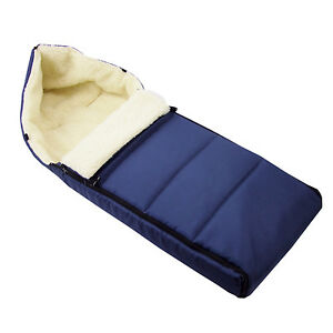 BlaueKatze Fußsack für Kinderwagen; Schlafsack auf Schlitten 90 cm