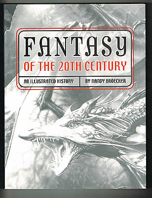 "FANTASY OF THE 20TH CENTURY ILLUS. HISTORY NM 2001 10""X13"" 100s of PHOTOS SCI-FI"