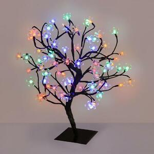 Image Is Loading 72 Led Multi Coloured Novelty Table Lamp Fairy
