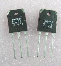 Transistor:Power: 2SA1962 / A1962 & 2SC5242 / C5242 : 1 pair ( 1 each )