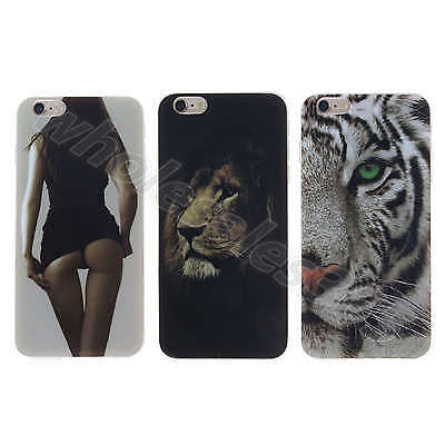 Cool Evil Design Soft TPU Silicone Rubber Gel Back Case Cover F New Smart Phones