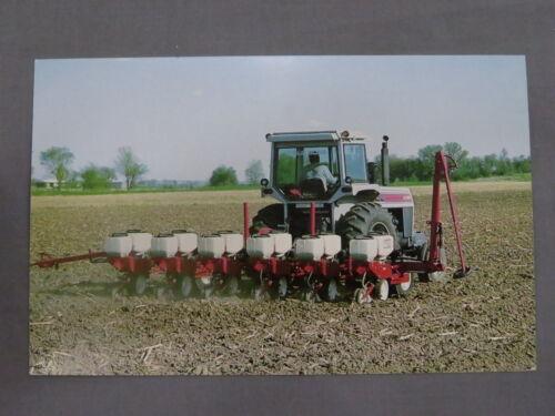original White Tractor 2-135 and White Planter Postcard