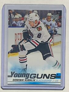 2019-20-UD-Upper-Deck-Dominik-Kubalik-Rookie-RC-Young-Guns-Card-Blackhawks-Mint