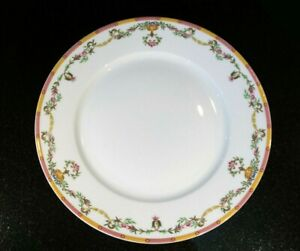 Beautiful-Tharaud-Limoges-Cheverny-Amarilla-Dinner-Plate
