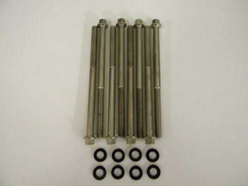 """Holley QFT AED CCS  4150-4160-4500-4700 Stainless Bowl Screws 3.65/"""" Long"""