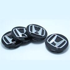 4pcs 69mm Wheel Center Hub Caps Rim Logo Badge Emblem For Honda Accord Civic Crv