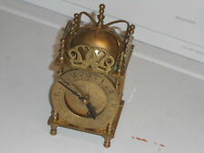 Georgian Themed Brass Lantern Clock by Smith's English Clocks