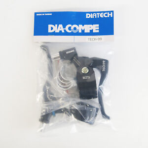 DIA-COMPE TECH99 Brake Lever Left & Right (Pair) Black