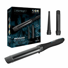 REVAMP PROGLOSS MULTIFORM CURL & WAVES CURLING WAND & TONG HAIR STYLER WD-1500