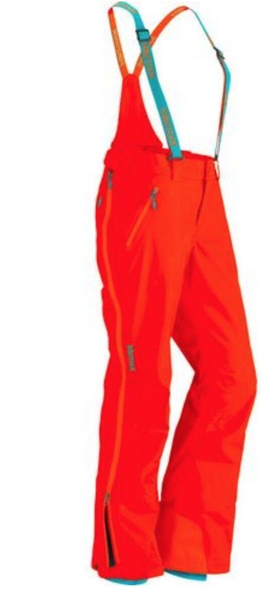 Marmot Snowboard Ski Women's Spire Pant 35550 Sunset orange 9185  360 NWT Sz L