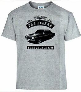T-Shirt-Ford-Taunus-17m-Auto-Oldtimer-Youngtimer