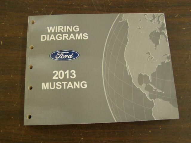 Oem Ford 2013 Mustang Shop Manual Wiring Diagram Book Nos
