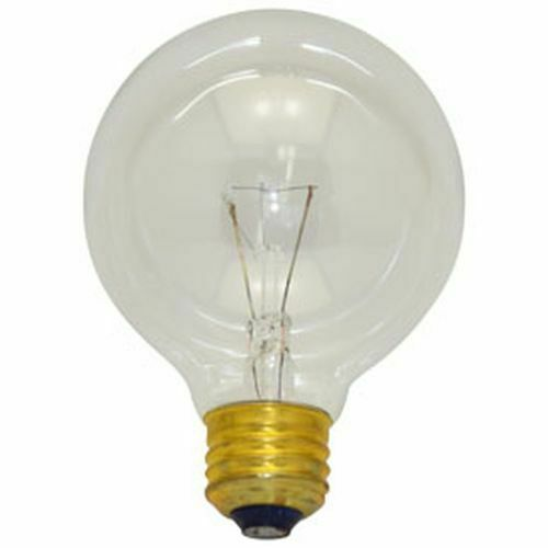 24 REPLACEMENT BULBS FOR SATCO S3448 40W 120V