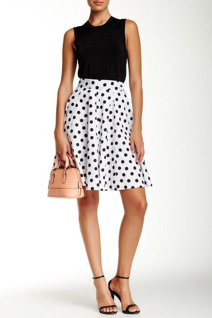 Amanda & Chelsea Polka Dot Circle Skirt, size 2, retail