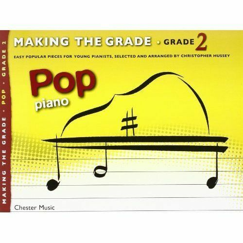 Making the Grade: Pop Piano (Grade 2) by Chester Music (Paperback, 2013)