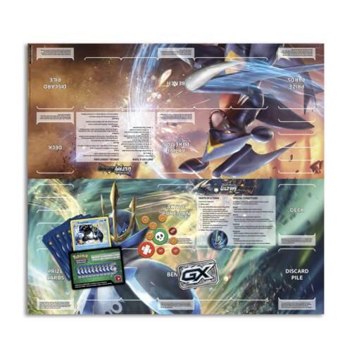 POKEMON Trading card game Sun /& Moon Ultra Prisme EMPOLEON /& GARCHOMP Official Playmat
