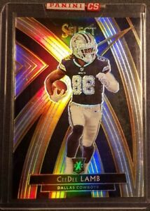 2019-Panini-Select-CeeDee-Lamb-313-XRC-Silver-Prizm-Rookie-Card-RC-Cowboys