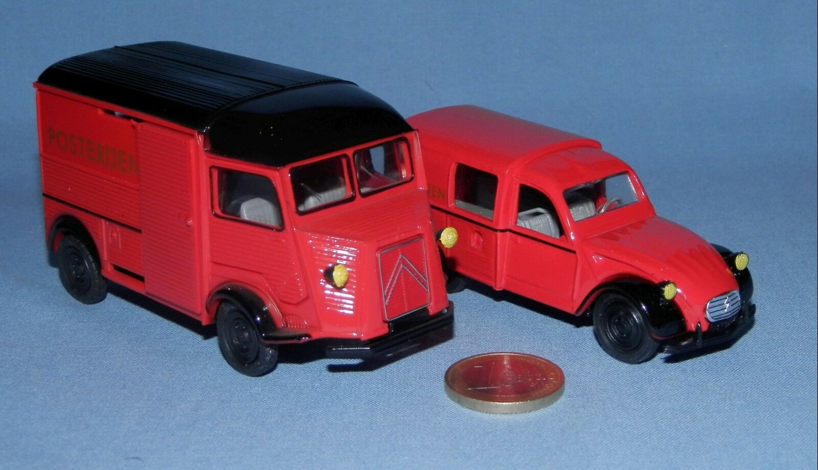 Eligor 1 43    Citroen 2cv & Hy Fourgonnettes Postes Pays Bas (Ed. Importateur)  expédition rapide et meilleur service