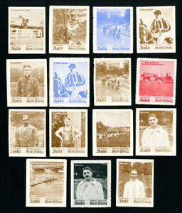 Germany-Sports-Stamps-Lot-of-15-items-1930-Complete-Set