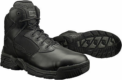 "Magnum Mens 6"" STEALTH FORCE 6.0 Black Police Army Combat Boots 5248"