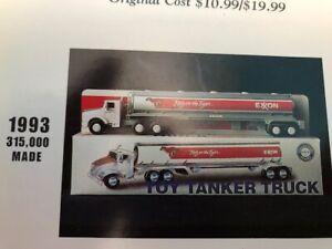 TRUE 1993 Exxon Tanker Truck NRFB Like Hess