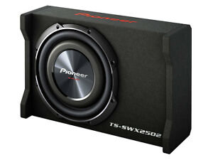 Pioneer-TS-SWX2502-10-034-Preloaded-Shallow-Mount-Enclosure-Box-New-TSSWX2502