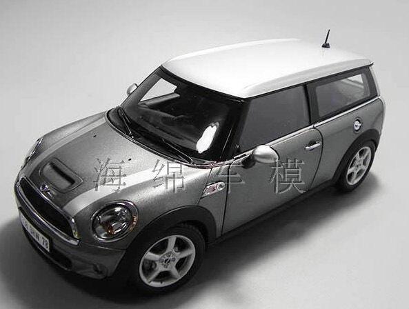 1 18 Kyosho Mini Cooper Die Cast modello argento