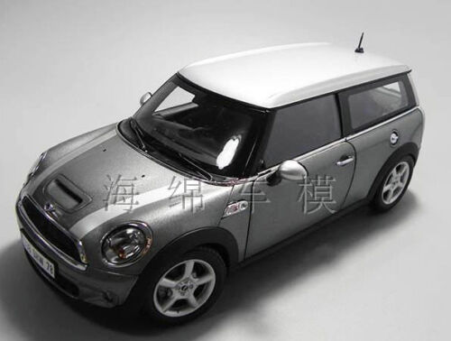 118 Kyosho Mini Cooper Die Cast Model Silver