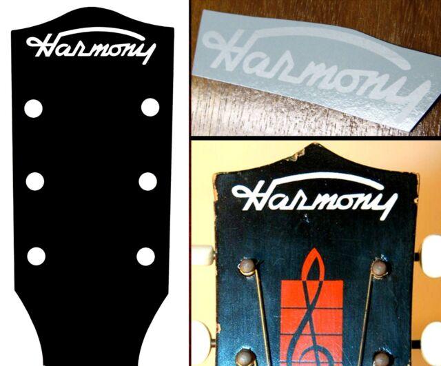 Schecter Strat Headstock Decals Waterslide Decal Vintage Guitar Stratocaster