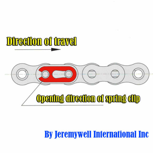 #80H Heavy Duty Roller Chain 50 Feet with 5 Connecting Links