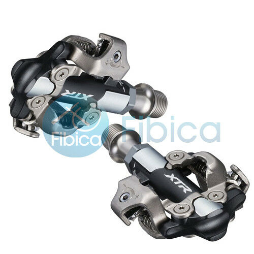 New 2019 Shimano XTR XC Racing PD-M9100-3mm Shorter Axle Mountain SPD Pedals