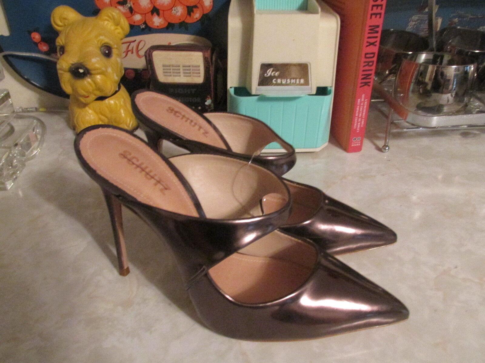 Schutz Nicolly Pointy 8.5 Toe Mule Heels Patent Leder Größe: 8.5 Pointy B NWOB 5581ad