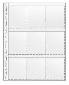 10 X Veloflex Sammelhülle A4 Mit 9 Taschen Sammelhüllen