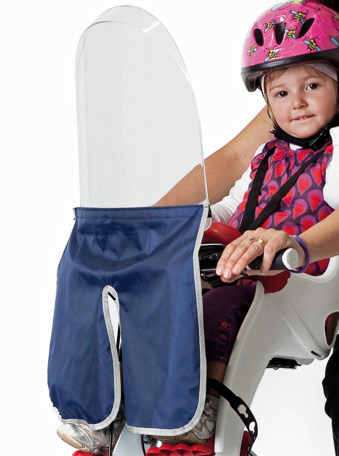 Bicicletta Parabrezza Frangivento per Sedile Bambino Rabbit Bilby Junior Tattoo