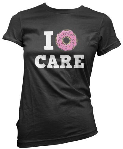Baking Foodie Funny Womens T-Shirt I Donut Care Doughnut