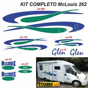 Kit-completo-adesivi-per-Camper-MC-LOUIS-GLEN-262-McLouis-Linea-Professionale
