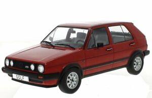 VW Volkswagen Golf II GTD - 1984 - red - MCG 1:18