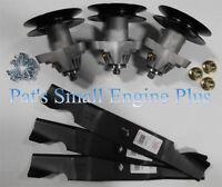 Mtd Cub Cadet Rzt 50 Rzt50 Heavy Duty Blades/spindle/bolt Mower Deck Rebuild Kit
