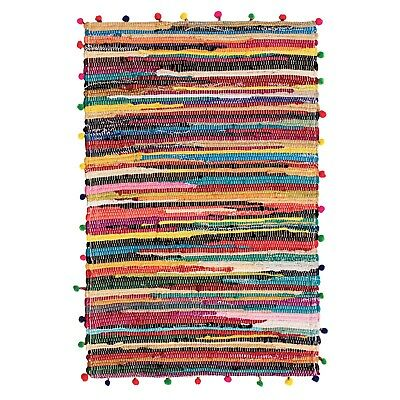 Pom 60x90cm Cotton Chindi Rag Rug
